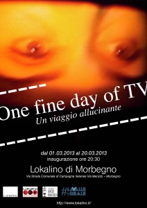Locandina definitiva mostra One fine day of TV(3)
