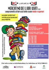 Mercatino dei libri usati 2013 scarica qui modulo e regolamento lokalino - Mercatino dei mobili usati ...